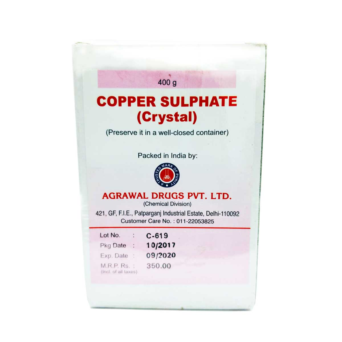 copper shulphate